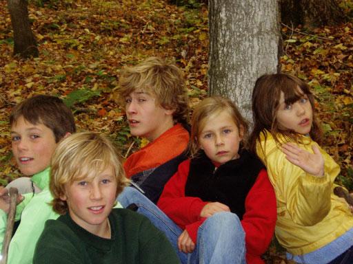 Cousins, circa 9 years ago.