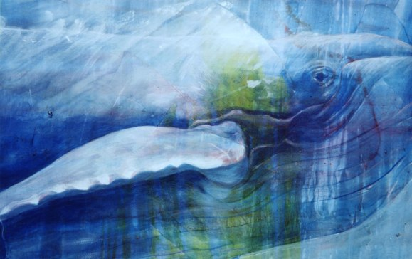 """Resonance"", from Sea Hear (2001). 60""x48""; sold"
