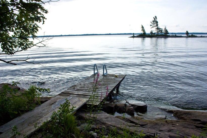 swimming-dock
