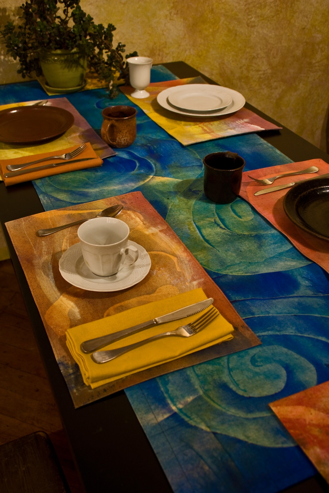 combined with placemats (these have sold, but I have several new sets)