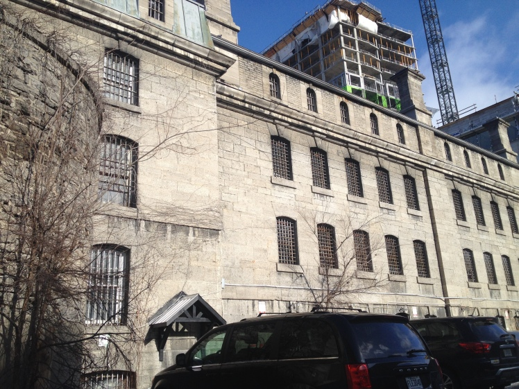 While in Ottawa we stayed in the Jail Hostel. In a cell one floor below the former skid row. I loved it there - sad to leave